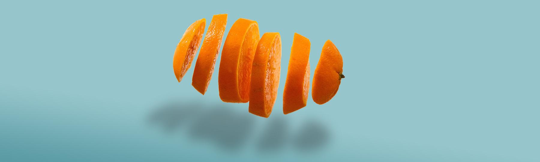Orange sliced operator